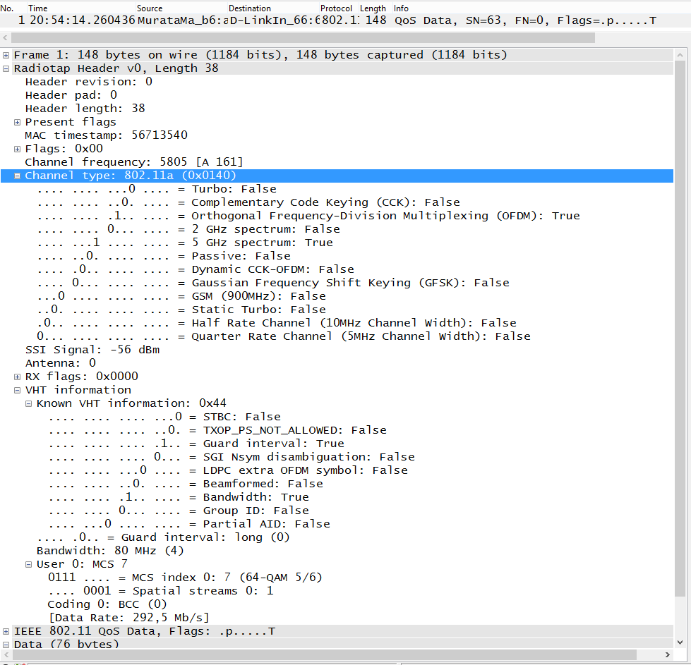 How to validate the WI-FI Information within Wireshark – Part I ...