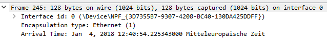Wireshark Profishark Slicing
